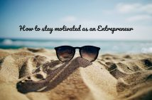 stay motivated as an online entrepreneur